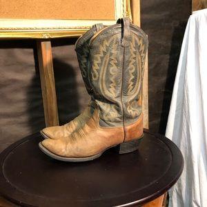 Old West Cowboy Boots - men's size 8-8.5
